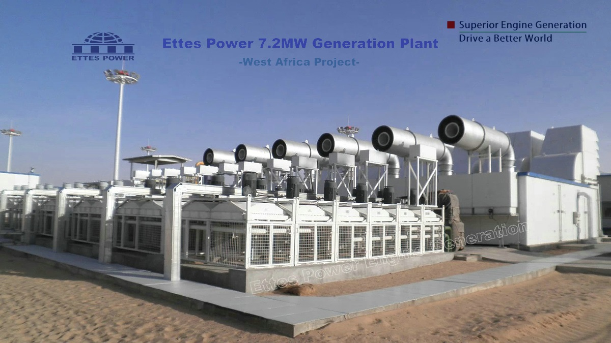 Ettes Power Niger-Sahara Desert-Oilfield Petroleum-Natural Gas Power Plant-CNOOC-AGADEM Project