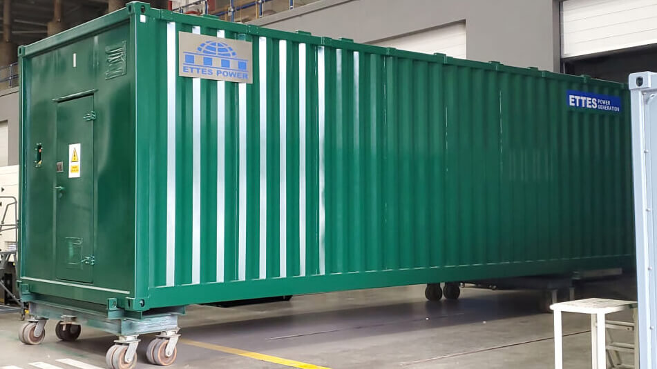 MAN Series 4x520kW Container Biogas CHPs to Western France