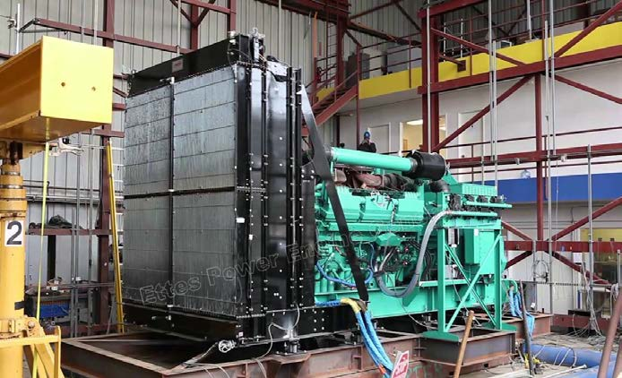 Ettes Power Group MTU Cummins Mitsubishi 2MW 3MW Standby Diesel Generator Power Station Argentina Ettespower