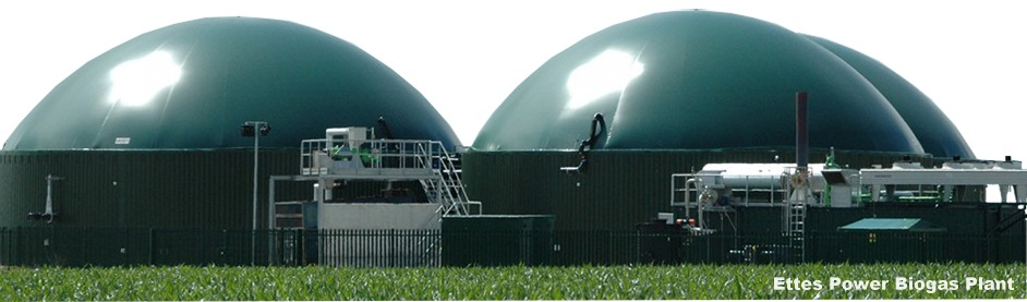 Ettes Power Biogas Production Plant Digester gas generator-Ettespower