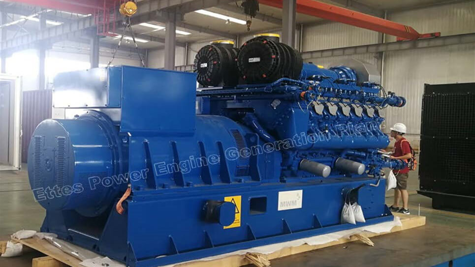 Ettes Power 800KW 1MW Container Biogas Generator CHP CCHP Ettespower Group
