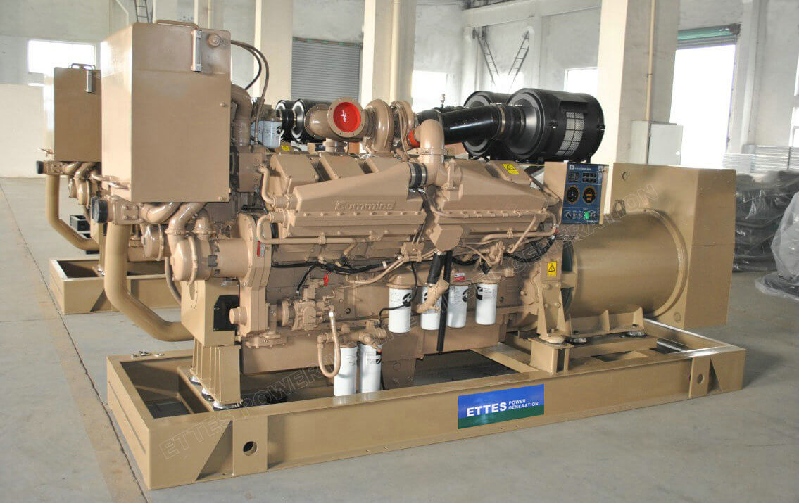 Cummins Marine Engine Generators to Singapore