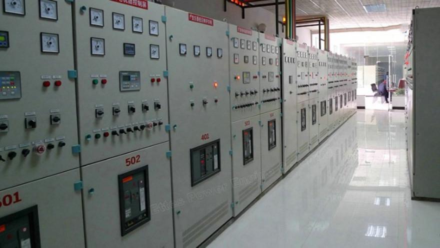 Ettespower Group Control Panel Breaker Panel Gas Engine Generator Ettes Power