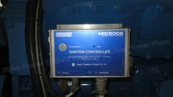 Motortech Ignition Controller Ettes Power Gas Fueled-Engine Generator Ettes Power Group